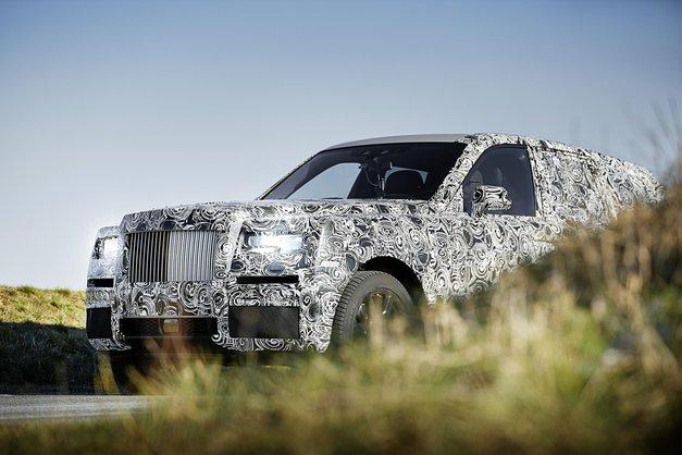 Rolls-Royceov prestižni športni terenec se bliža uresničitvi (prve fotografije)