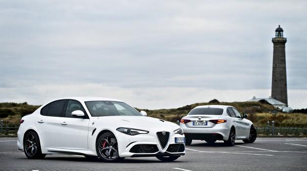 Sladke skrbi: primerjali smo Alfa Romeo Giulio Quadrifoglio in Giulio Veloce