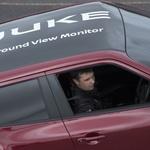 Nissan Juke je izvedel vzvratni obrat na slepo (foto: Nissan)