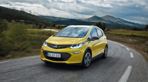 Opel Ampera-e gre v prodajo na Norveškem