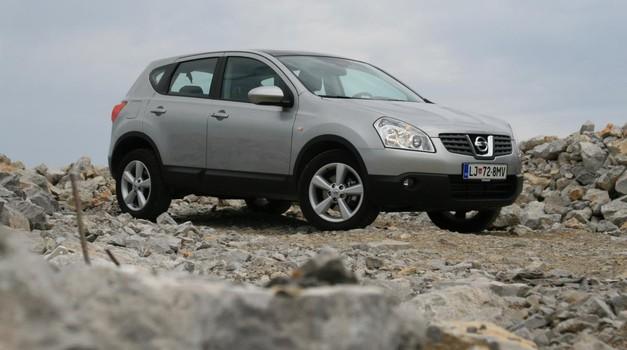 Rabljen avto: Nissan Quashqai (2007 – 2014): Gospod simpatični (foto: Aleš Pavletič)