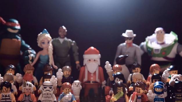 Snowkhana ali Gymkhana v božičnem duhu