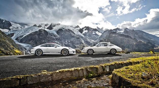 Za volanom že legendarnega Porscheja 911 R