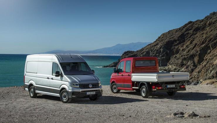 Vozili smo: Volkswagen Crafter, veliki dostavnik z limuzinskimi lastnostmi