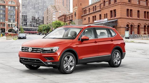Volkswagen je podaljšal Tiguana (foto: Volkswagen)