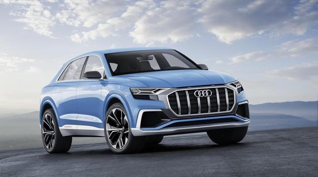Audi s skoraj serijsko študijo napoveduje novi Q8
