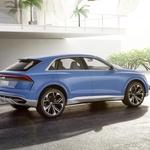 Audi s skoraj serijsko študijo napoveduje novi Q8 (foto: Audi)