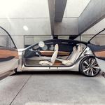 Nissan napoveduje svojo limuzino prihodnosti (foto: Nissan)