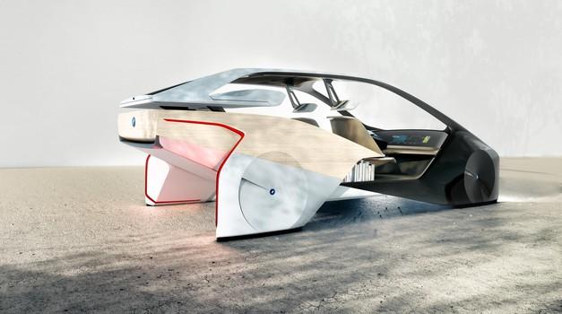 BMW-jeva digitalna skulptura na štirih kolesih