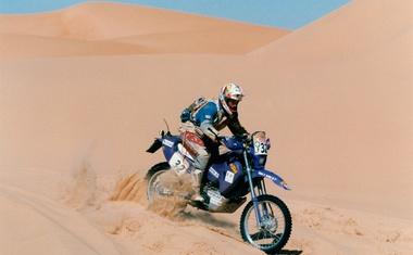 Miran Stanovnik išče KTM, s katerim je odpeljal svoj prvi Dakar. Mu lahko kdo pomaga?