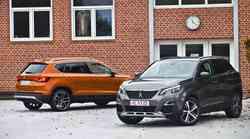 Podobna, pa tako drugačna: Peugeot 3008 in Seat Ateca
