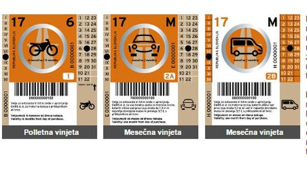 Ne pozabite: od jutri na avtoceste le še z novo vinjeto! Kazen med 300 in 800 EUR. (foto: DARS)
