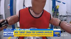 Ker se Američani redijo, so morali prilagoditi lutke za testiranje nesreč
