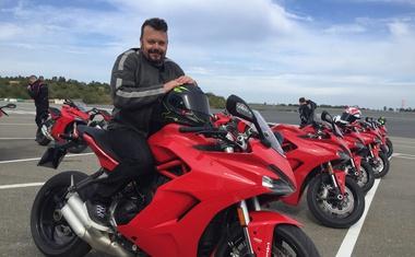 Novi Ducati SuperSport: soliden na stezi, na cesti pa krotek in uporaben