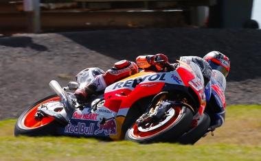MotoGP: Marquez na Phillip Islandu izzival hitrega Vinalesa, Lorenzo daleč zadaj