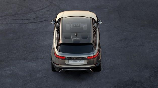 Land Rover bo z Range Roverjem Velarjem vstopil v novi avtomobilski razred (foto: Jaguar Land Rover)