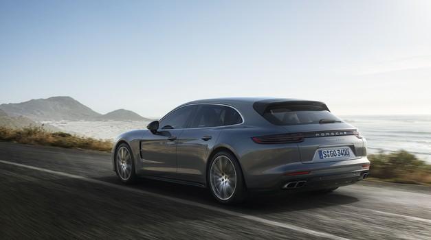 Panamera je dobila novo karoserijsko različico. Imenuje se Panamera Sport Turismo (foto: Porsche)