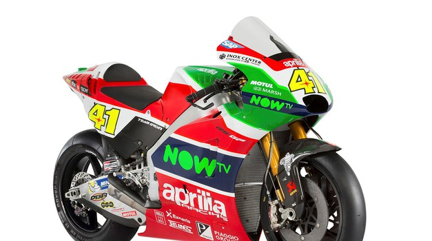 Povsem nova zunanja podoba Aprilije za MotoGP