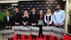 V Centru mobilnost Špan odprli kolesarski center in podelili Pirellijeve koledarje