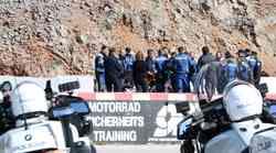 Kje trenirajo hrvaški policisti motoristi? Na dirkališču Grobnik!