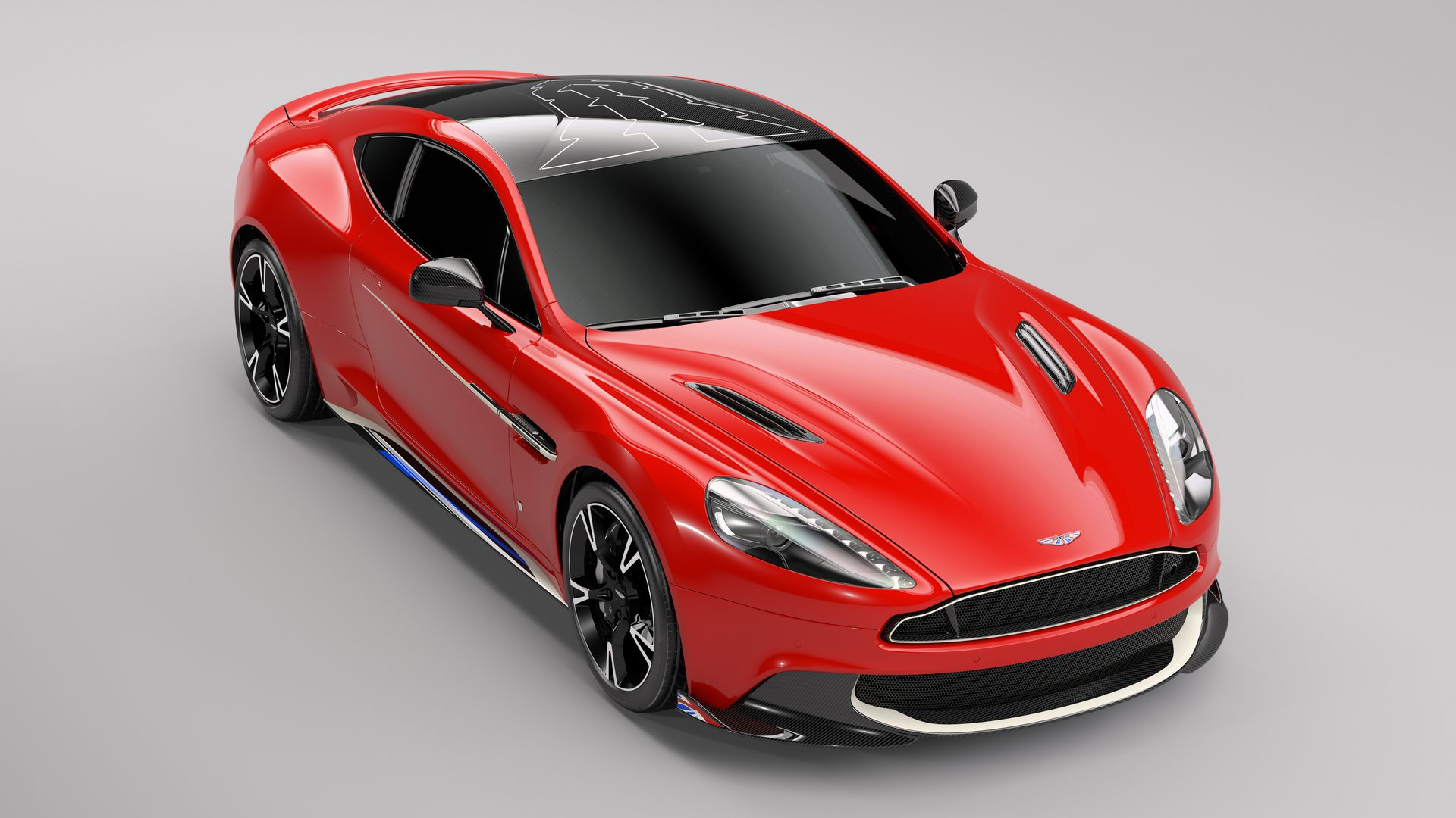 Aston Martin Vanquish S ki spominja na znamenite rdeče puščice