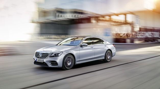 Novi Mercedes-Benz razreda S je korak bliže avtonomni vožnji