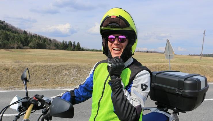 Spoznajte Koprčana, ki je to zimo s Kawasakijem KLR 650 potoval od Kanade do Peruja