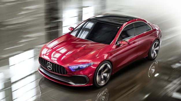 Mercedes-Benz napoveduje novi razred A