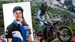 Fantje, pripravite se: Fontanesijeva bo ta vikend kot prva punca dirkala v razredu MX2!