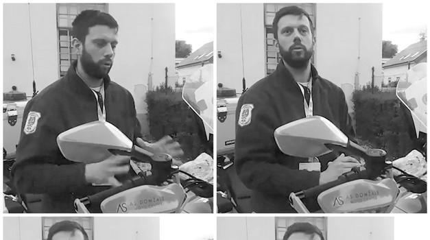 S Tino čez bankino #12: reševalec na motorju Domen Vodopivec, najhitrejši motorist na ljubljanskih ulicah po službeni dolžnosti