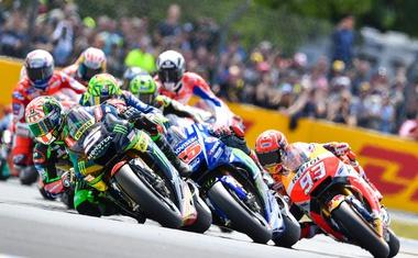 MotoGP, VN Francije: Vinales do tretje zmage, Rossi po tleh