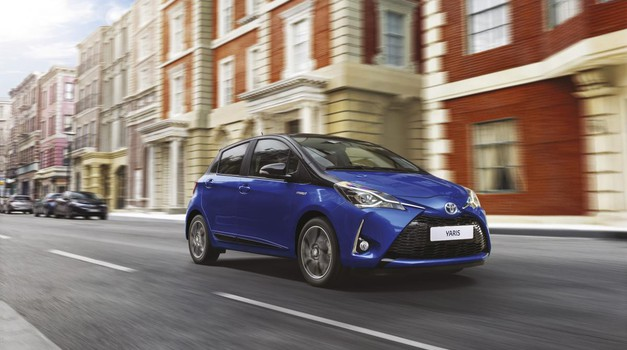 Toyota Yaris je hibrid na dosegu roke (foto: Toyota)