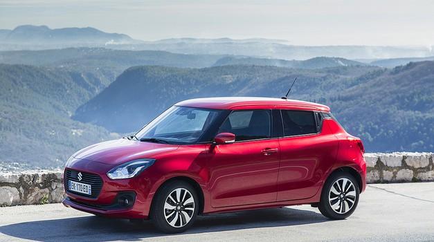 Novo v Sloveniji: Suzuki Swift (foto: Suzuki)