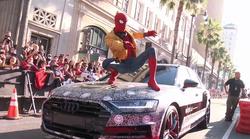 Audi A8 2018 je Spider-Mana popeljal na premiero filma Vrnitev domov