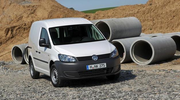 Rabljeni avtomobili: Volkswagen Caddy je izvrstna mešanica sklopov in komponent (foto: Volkswagen)
