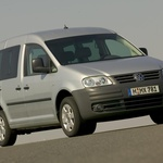 Rabljeni avtomobili: Volkswagen Caddy je izvrstna mešanica sklopov in komponent (foto: VW)