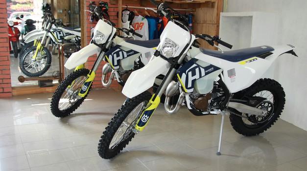 Husqvarna TE300i in TE250i z vbrizgom goriva že v salonu MotoXgeneration