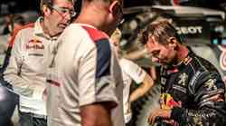 Loeb na 'Reliju po svileni cesti' odstopil s poškodovanim zapestjem