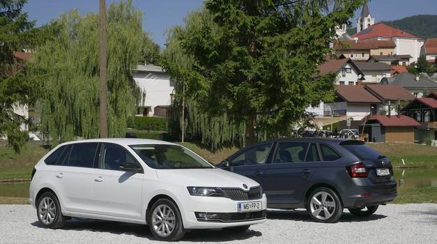 Novo v Sloveniji: Škoda Rapid, tretji najbolj prodajan model te znamke pri nas (foto: Matija Janežič)