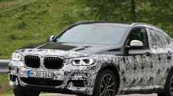Zamaskiran BMW X4 viden v Dolomitih