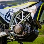 Močan in preizkušen motor je dobro zaščiten. (foto: Martin Matula)