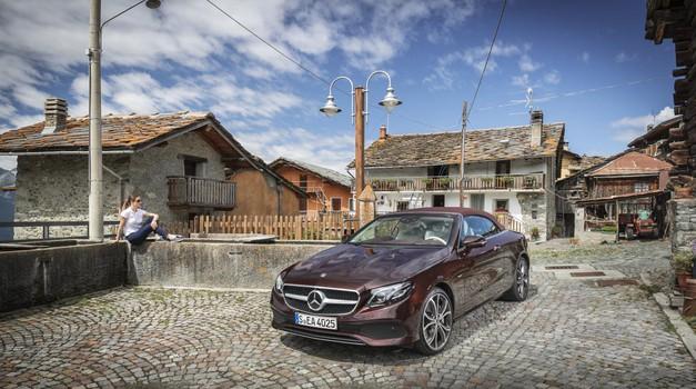 Mercedes-Benz razred E kabriolet je izpopolnjena klasika