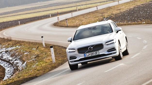 Kratki test: Volvo V90 D5 Inscription AWD A (foto: Saša Kapetanović)