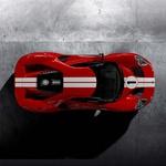 Ford GT '67 Heritage edition v spomin na 50. obletnico zmage v Le Mansu (foto: Ford)