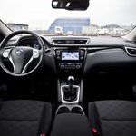 Kratki test: Nissan Qashqai 1.5 dCi 360° (foto: Saša Kapetanovič)