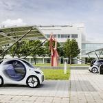 Smart s študijo Vision EQ ForTwo napoveduje delitvene sheme prihodnosti (foto: Daimler)