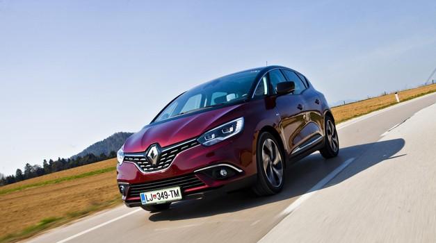 Kratki test: Renault Scenic Bose Energy DCI 130 (foto: Saša Kapetanovič)