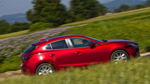 Kratki test: Mazda 3 G120 Revolution (foto: Saša Kapetanovič)