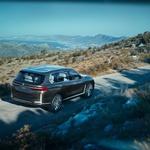 BMW bo z X7 zapolnil nišo v svoji razkošni ponudbi; napoveduje ga študija BMW Concept X7 iPerformance (foto: BMW)