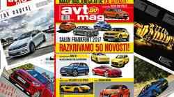 Izšel je novi Avto magazin: preberite novosti s področja avtomobilizma in motociklizma